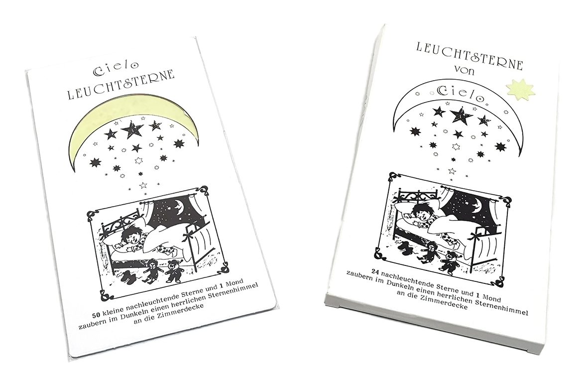 Cielo - Leuchtsterne - Archiv - Verpackung